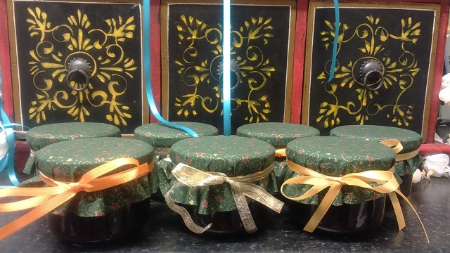 Apricot Exotica coulis - gifts for my friends.